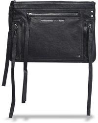 McQ Leather Pouch Black