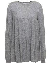 Autumn Cashmere Mélange Cashmere Jumper - Grey
