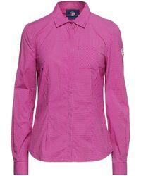Fusalp Checked Poplin Shirt - Multicolour