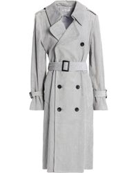 Current/Elliott - Belted Corduroy Trench Coat - Lyst