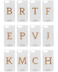 Edie Parker + Goo.ey Printed Plastic Iphone 6 And 7 Plus Case - White