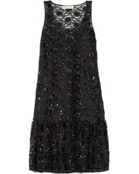 MICHAEL Michael Kors - Sequin-embellished Tulle Dress - Lyst