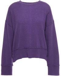 Autumn Cashmere Cashmere Jumper - Purple