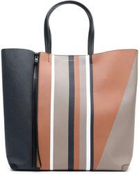Elena Ghisellini - Printed Leather Tote - Lyst