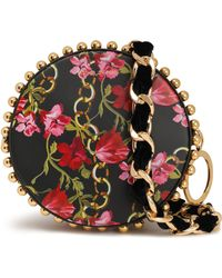 Mother Of Pearl - Woman Rena Studded Painted Shoulder Bag Black - Lyst