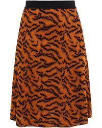 Missoni Jacquard-knit Skirt Light Brown