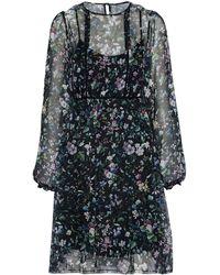 R13 - Floral Silk Minidress Size L - Lyst