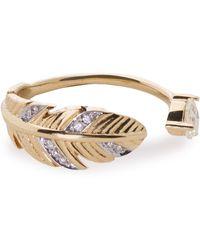 Pamela Love Frida 18-karat Gold Diamond Ring Gold - Metallic