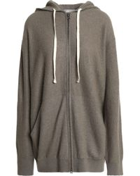 Vince - Cashmere Hooded Jacket - Lyst
