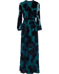 Co. - Belted Fil Upé Georgette Gown - Lyst