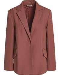 Nina Ricci - Wool Blazer Light Brown - Lyst