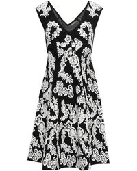 Zac Posen Floral-jacquard Dress - White