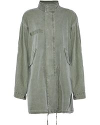 RTA - Cotton-blend Canvas Jacket - Lyst