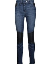 Belstaff - Asha Panelled High-rise Skinny Jeans - Lyst