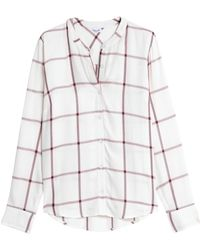 Splendid - Checked Flannel Shirt - Lyst