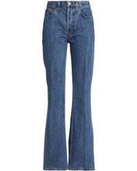 RE/DONE - High-rise Bootcut Jeans - Lyst