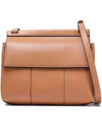 Tory Burch - Leather Shoulder Bag - Lyst