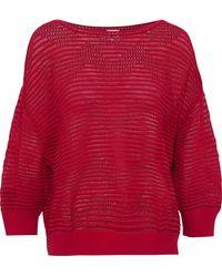 M Missoni - Pointelle-knit Top - Lyst