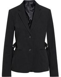 Helmut Lang Cotton-blend Twill Blazer - Black