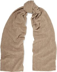 Magaschoni Open-knit Cashmere Scarf - Natural