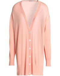 T By Alexander Wang - Mélange Wool-blend Cardigan - Lyst