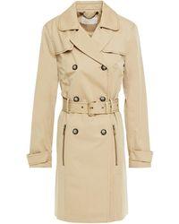 MICHAEL Michael Kors Cotton-blend Trench Coat Beige - Natural