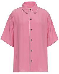 Marni Crepe De Chine Shirt - Pink