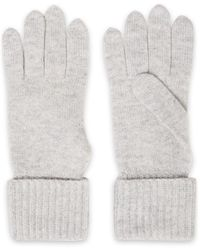 N.Peal Cashmere Cashmere Gloves Light Gray