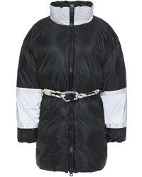 Ienki Ienki Fireman Color-block Shell Down Coat - Black