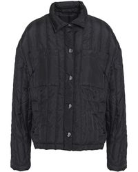 ATM Quilted Shell Jacket Black
