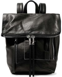 Rick Owens - Textured-leather Backpack - Lyst