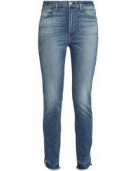 3x1 - Faded Mid-rise Slim-leg Jeans - Lyst
