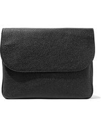 Marni - Textured-leather Shoulder Bag - Lyst