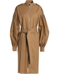 OSMAN - Cotton-blend Twill Trench Coat - Lyst