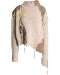 Acne Studios - Patchwork Wool-blend Jumper - Lyst