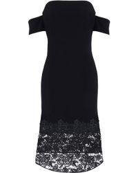 Sachin & Babi Woman Avant Embroidered Lace Mini Dress Black Size 0 Sachin & Babi PW4e4