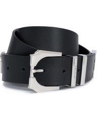 Versus - Embellished Leather Belt - Lyst
