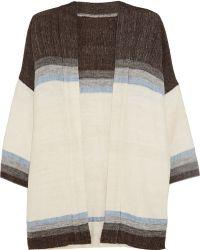 lemlem Debizaza Striped Cotton, Merino Wool And Mohair-blend Cardigan - Multicolour