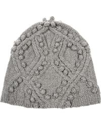 3.1 Phillip Lim Cable-knit Wool Beanie - Gray