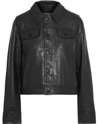 Walter Baker Laine Leather Jacket - Black