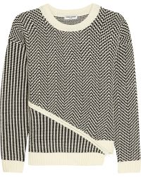 Opening Ceremony - Asymmetric Knitted Jumper - Lyst