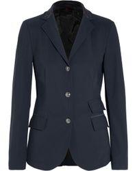 Cavalleria Toscana Satin-crepe Competition Jacket - Blue