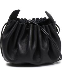 Ann Demeulemeester Leather Pouch Black