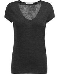 Duffy - Merino Wool-jersey T-shirt - Lyst