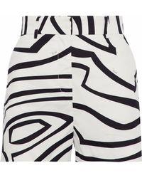 Emilio Pucci - Printed Cotton Shorts - Lyst
