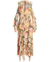 Nicholas 3/4 Length Dress - Multicolor