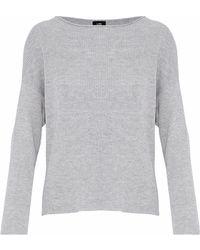 Line - Peyton Ribbed Mélange Cotton-blend Sweater - Lyst