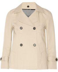 Golden Goose Deluxe Brand - Doris Cotton-blend Gabardine Peacoat - Lyst