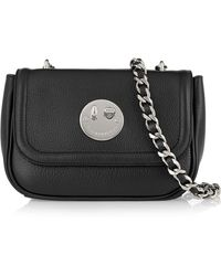 Hill & Friends - Happy Chain Textured-leather Shoulder Bag - Lyst
