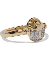 Pamela Love 18-karat Gold Diamond Ring Gold - Metallic